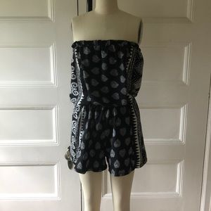 Cute Patterned Romper!